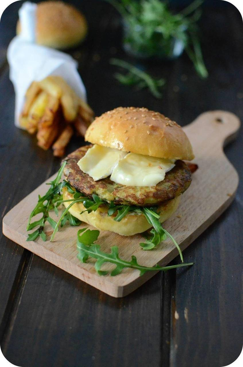 Cheesburger 100% Pomme de Terre