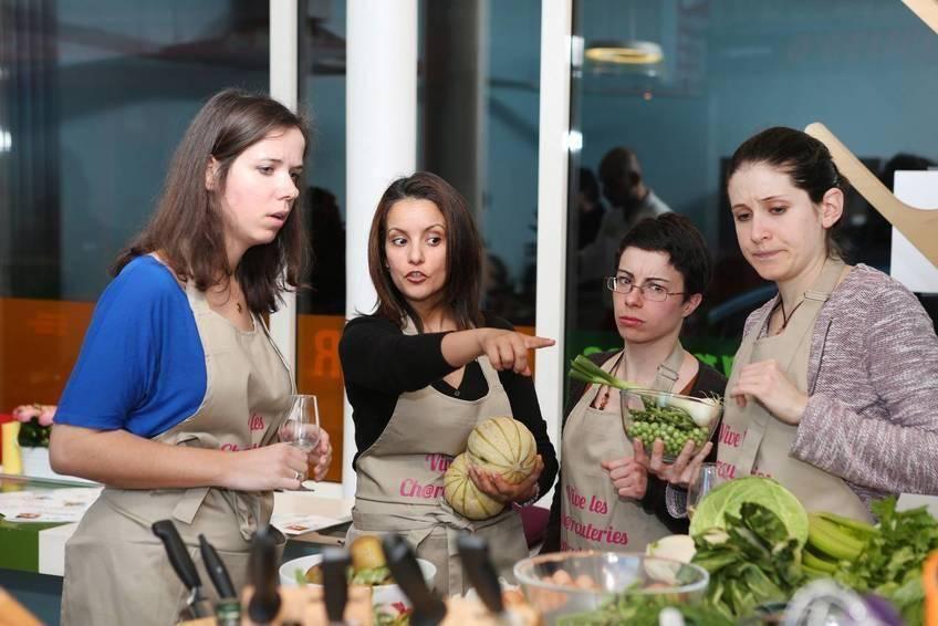 Melon Rôti et Risotto Printanier avec les aides culinaires charcutiéres