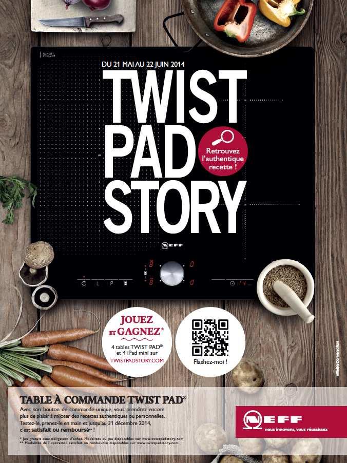 Le TwistPad, la Table Innovante de Neff et Une à Gagner