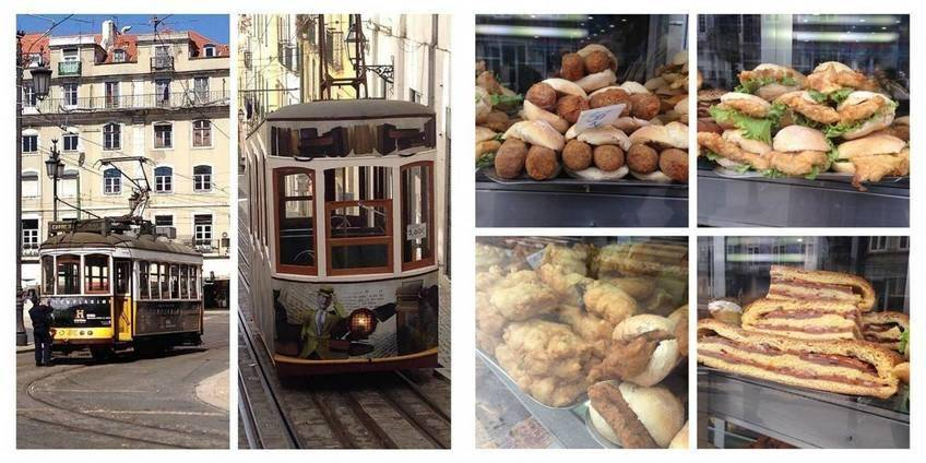 Tram et street food à Lisbonne