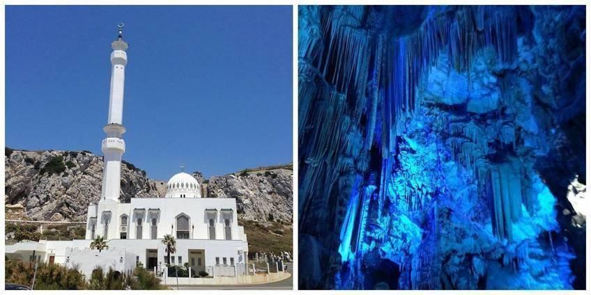 Mosquée et Rocher Gibraltar