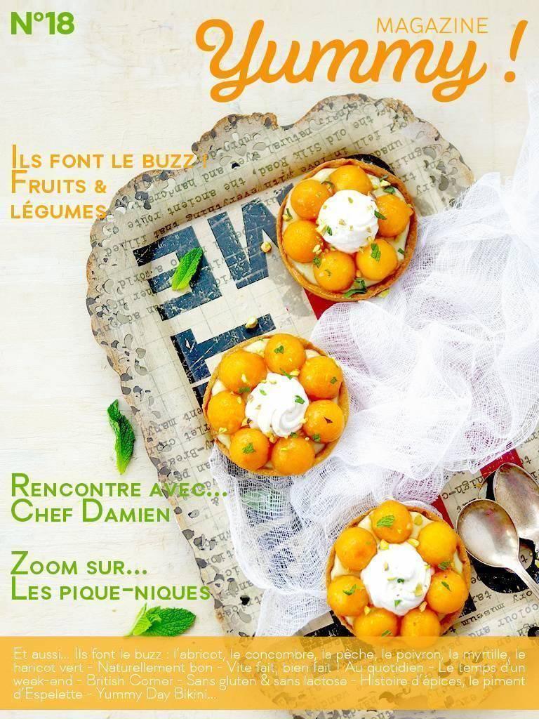Yummy Magazine N°18 est en Ligne