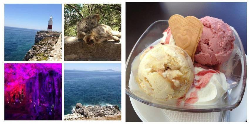 Quelques vues et pause gourmande à Gibraltar