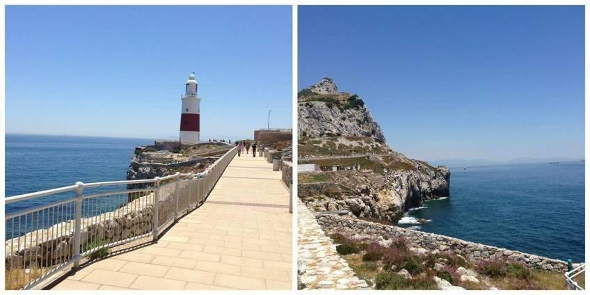 Petit phare à Gibraltar