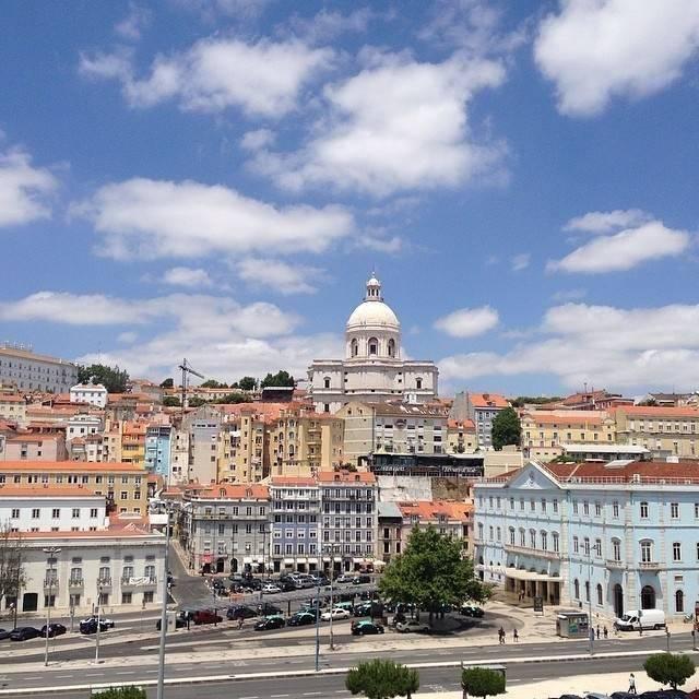 L'arrivée sur Lisbonne