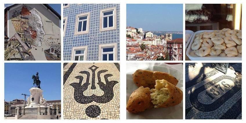 Lisbonne entre vues et food
