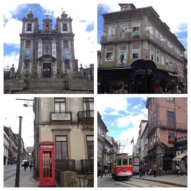 La vieille ville de Porto