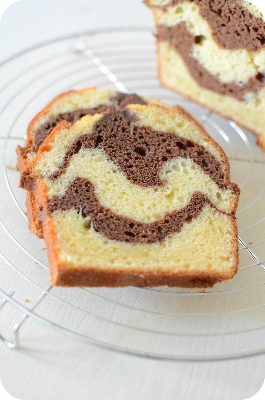 Cake Marbré à la Ricotta