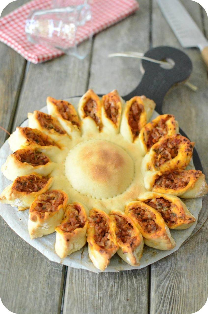 Pizza Soleil pour le #defiboulange