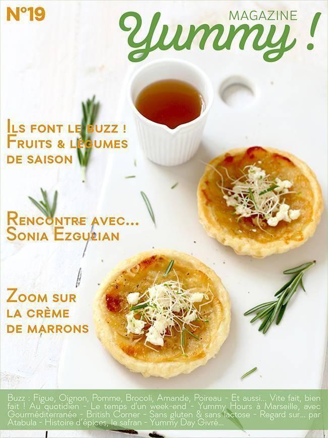 Yummy Magazine N°19 est en Ligne