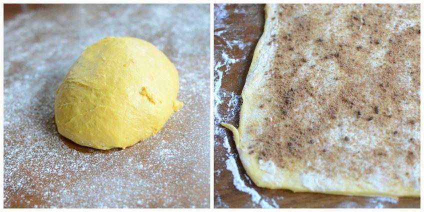Etape 1 pain brioché d'automne