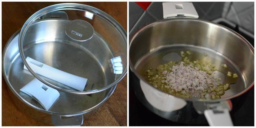Pas à pas 1 : Boulettes rôties Mozzarella