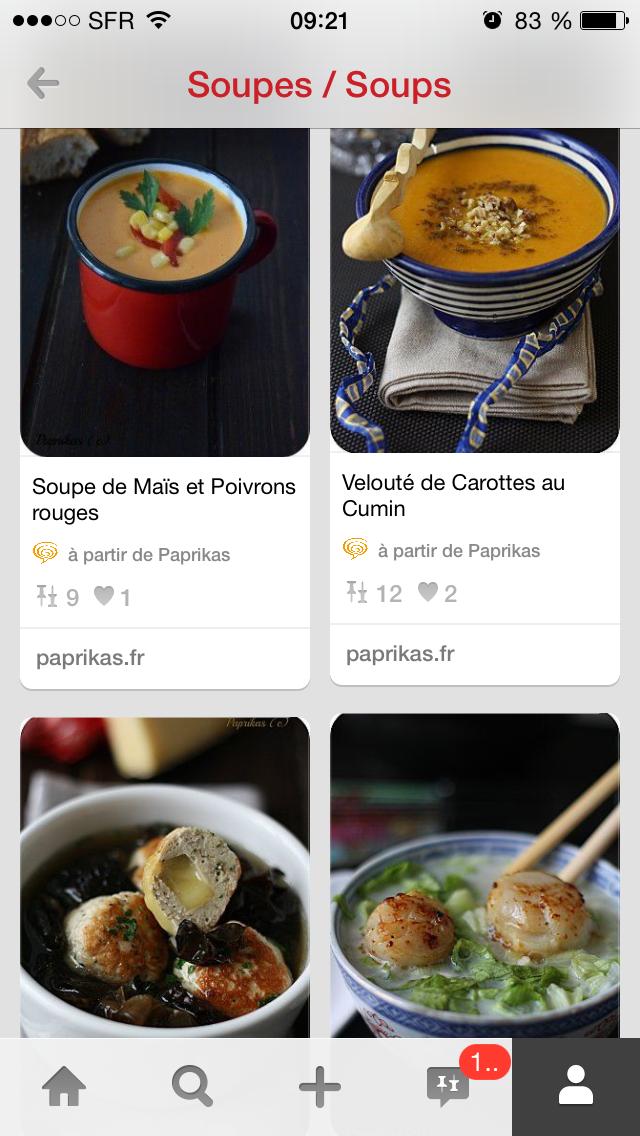 Les recettes Soupes sur Pinterest