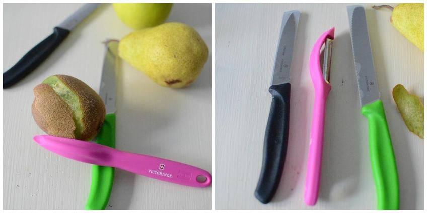 Salade de fruits aux épices et un lot de couteaux à gagner