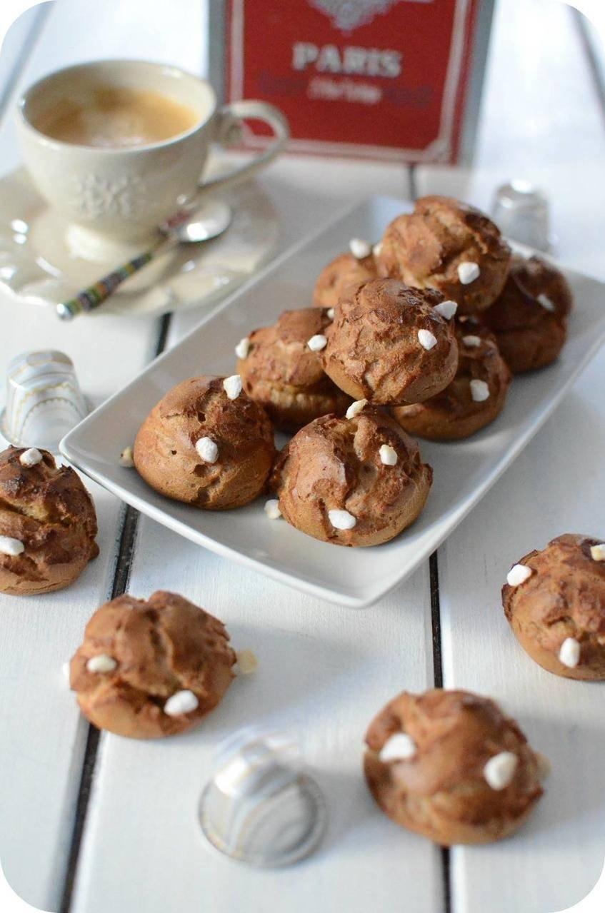 Chouquettes au Café