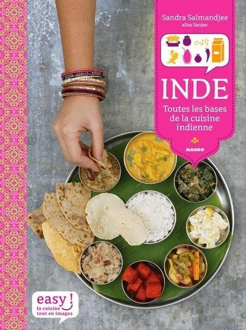 Cheese Naan du Livre &quot&#x3B;Inde&quot&#x3B; de Sanjee