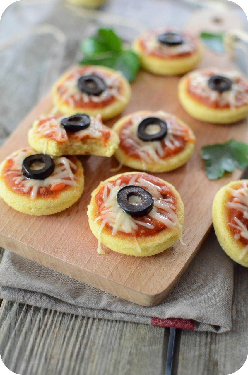 Mini Harcha-Pizza