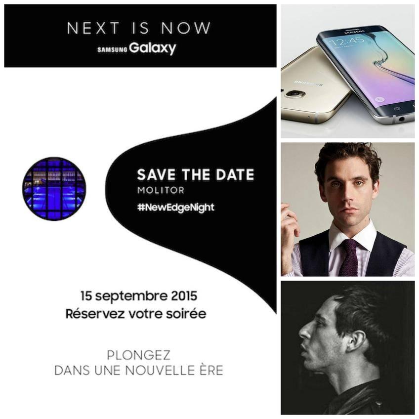 Mais qui sera à la soirée #NewEdgeNight de Samsung ?