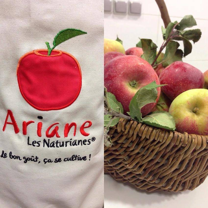Tarte Briochée aux Pommes Ariane