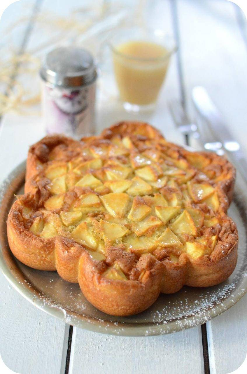 Gâteau aux Pommes 9 fois 4