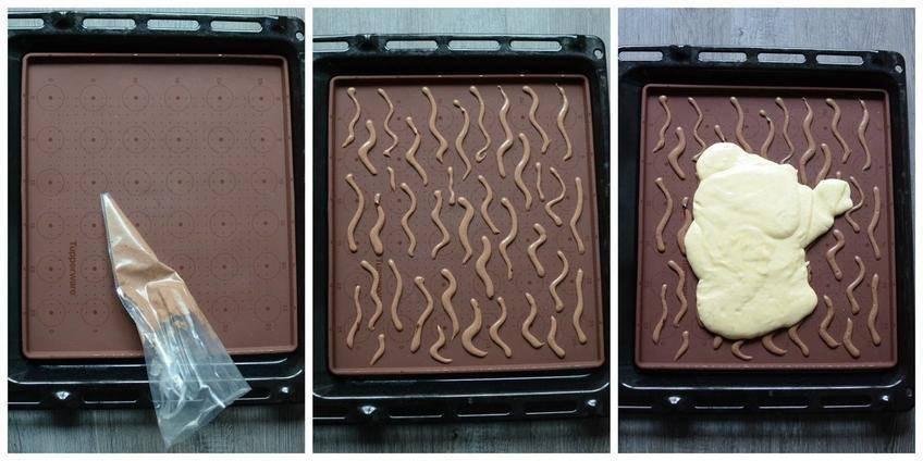 Gâteau Roulé Zebré au Chocolat