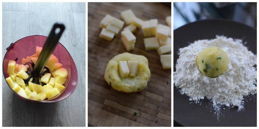 Croquettes Raclette