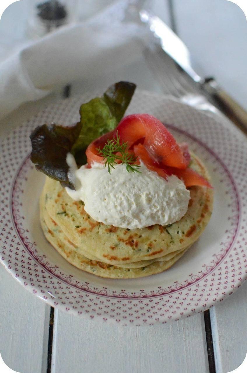Pancake Salé à la Pomme de Terre et à la Ciboulette