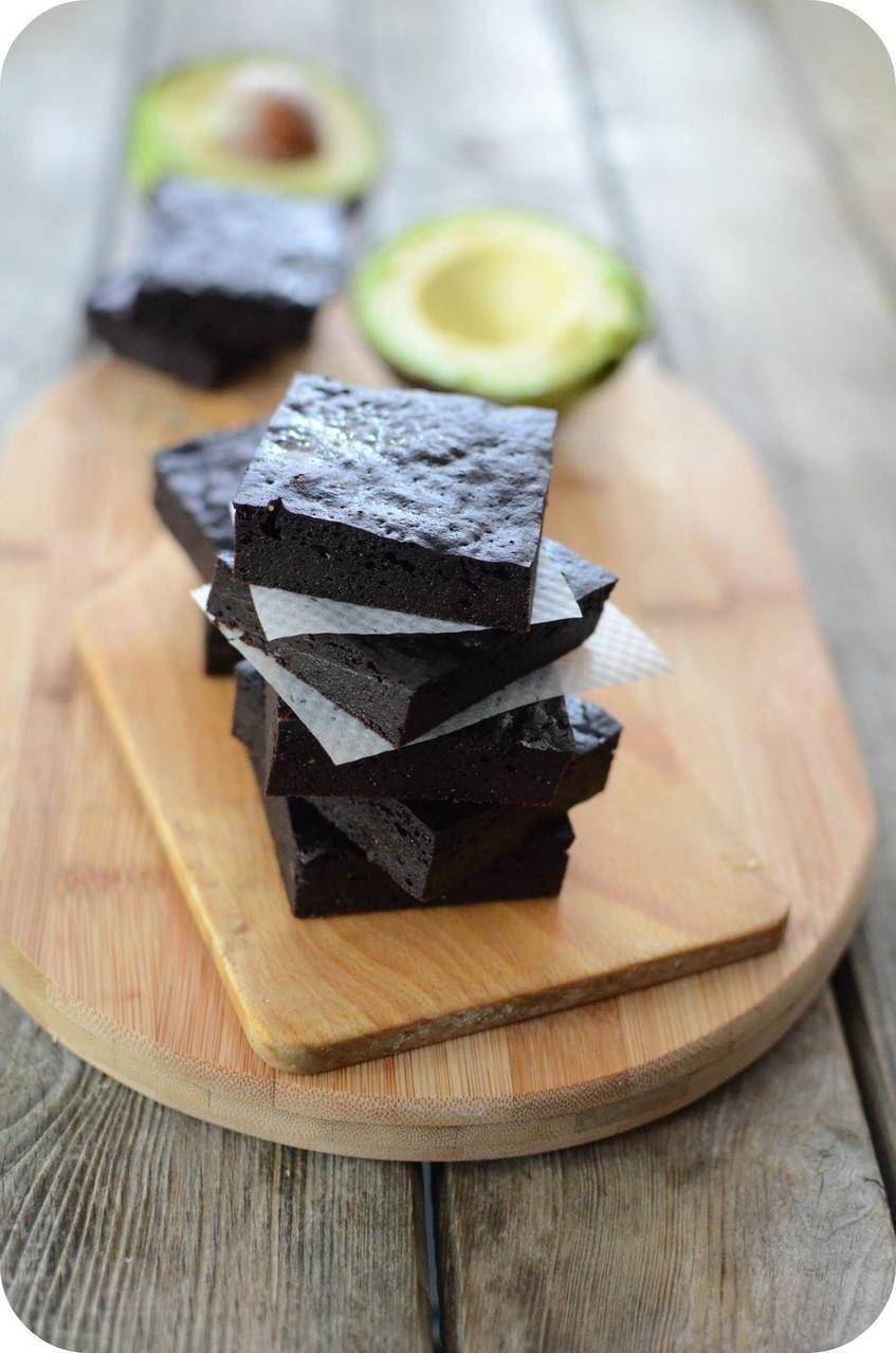Brownies à l'Avocat et au Chocolat