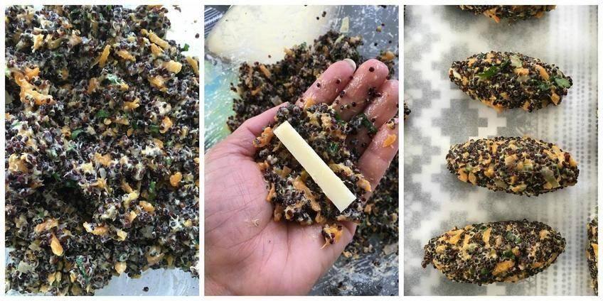 Croquettes au Quinoa