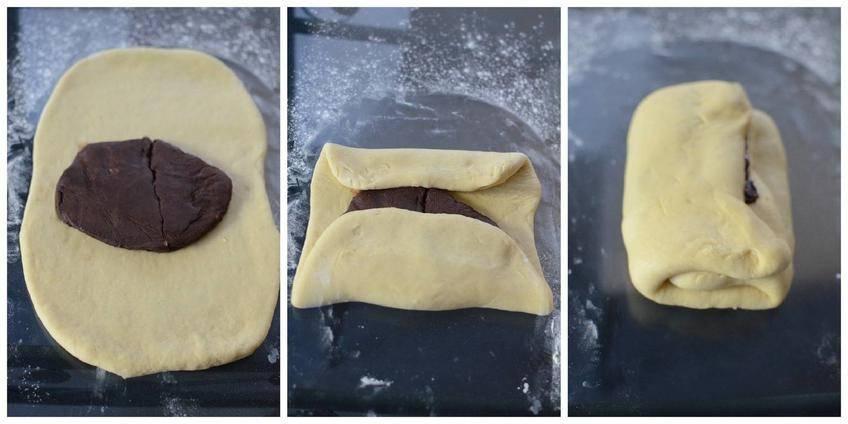 Petites Brioches Roulées au Cacao