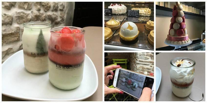 La Martinière, la boutique pâtisseries glacés