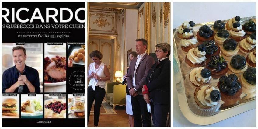 Lancement du livre Ricardo, un québécois dans votre cuisine