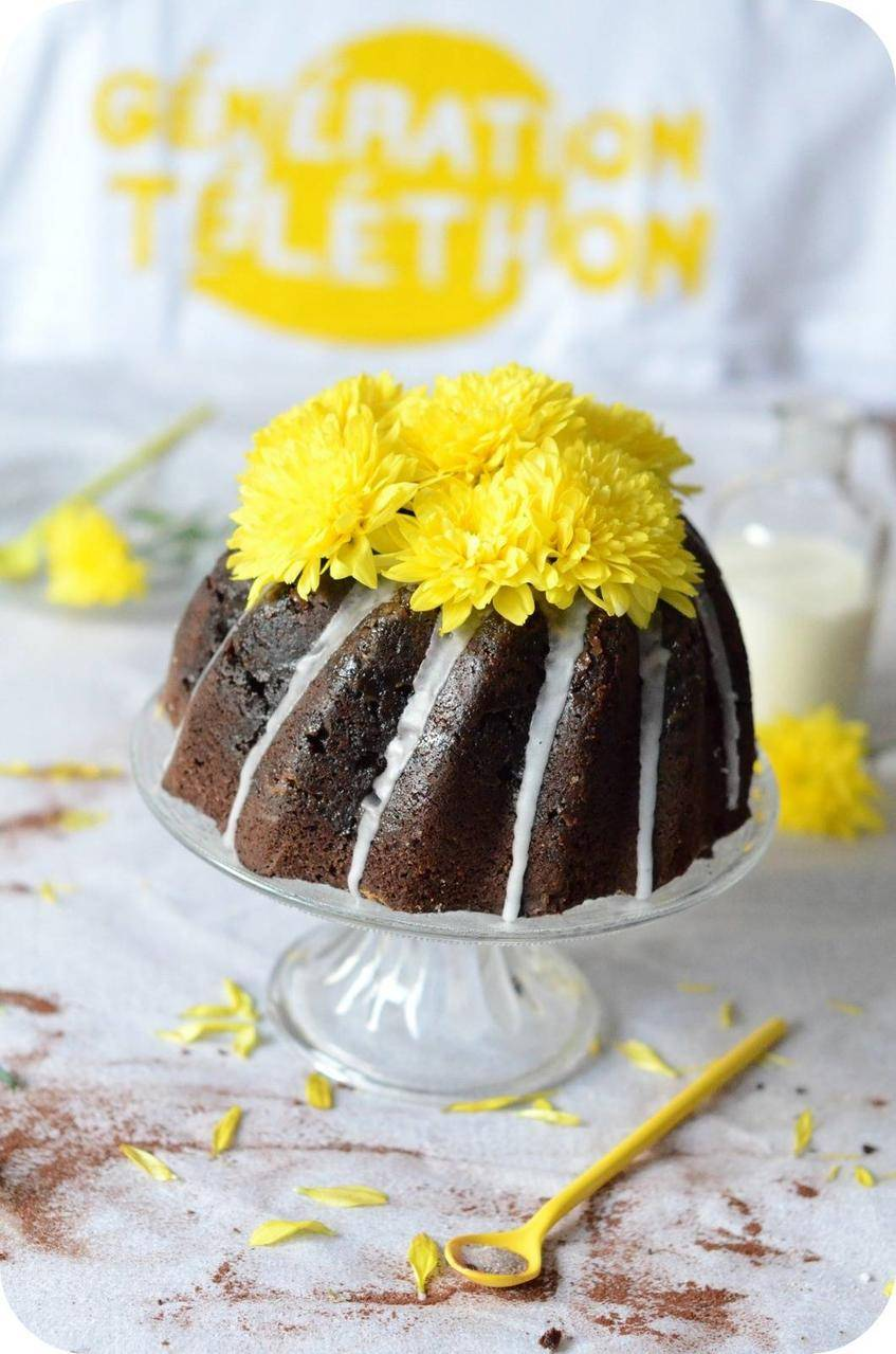 Gâteau au Chocolat Génération Téléthon