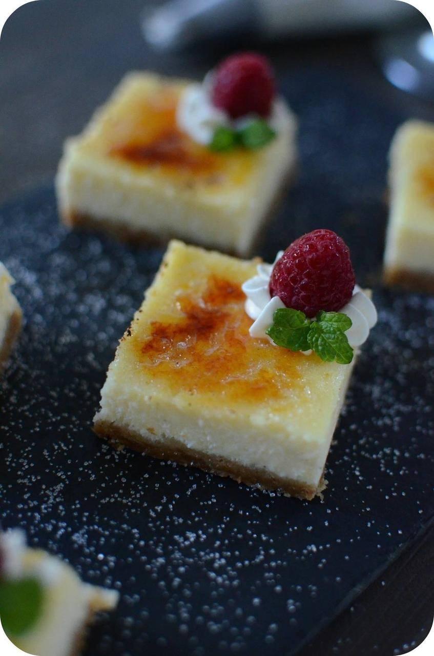 Cheesecake comme une Crème Brûlée