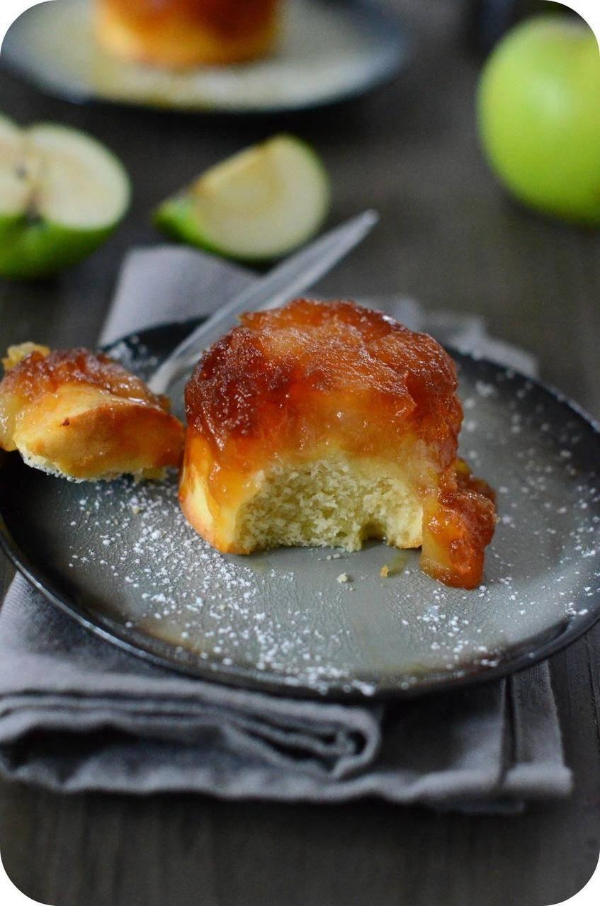 Muffin Tatin aux Pommes