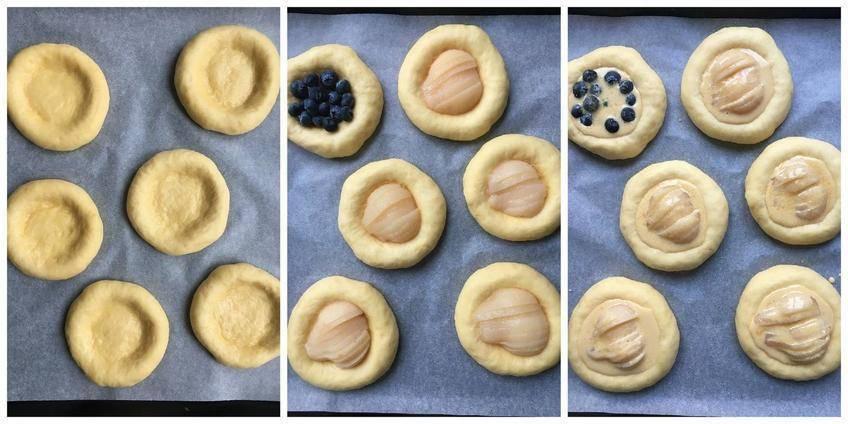 Tartelettes Briochées aux Poires