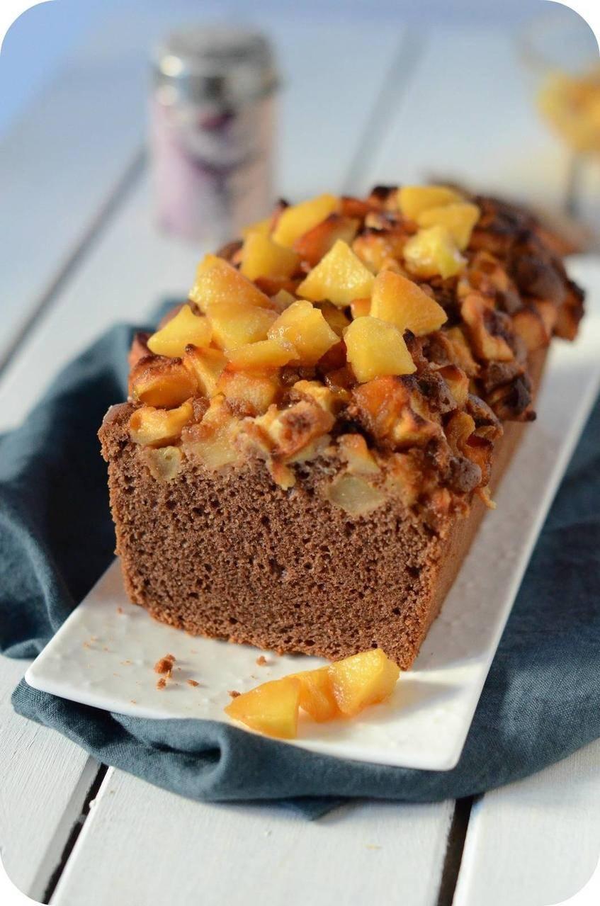 Cake au Chocolat et à la Pomme