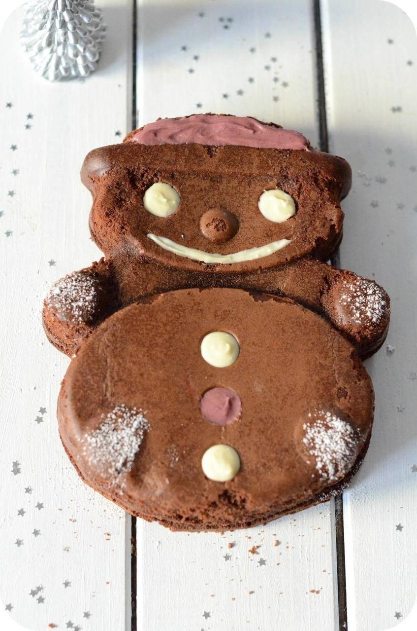 Brownie Bonhomme et 2 Moules Tupperware à Gagner