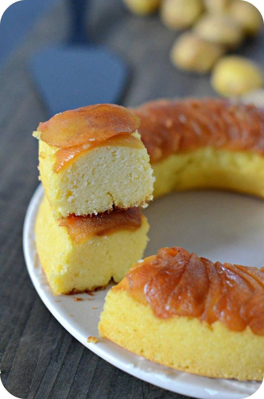 Gâteau sans Gluten à la Bonnotte et à la Pomme
