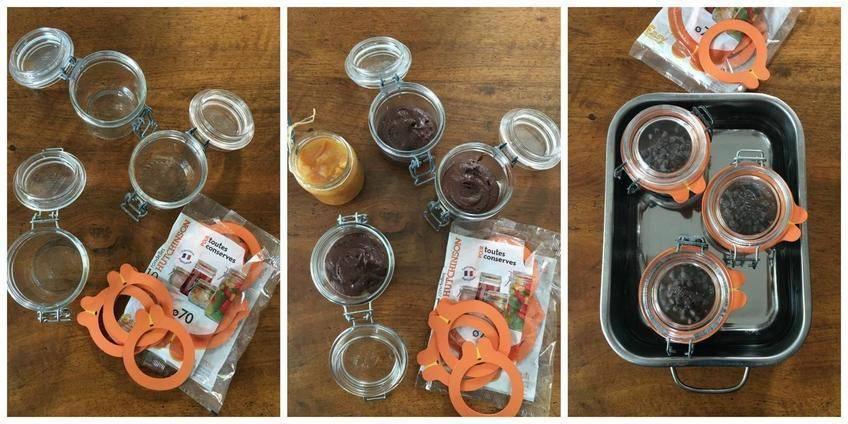 Sponge Cake au Chocolat Orange en Conserve