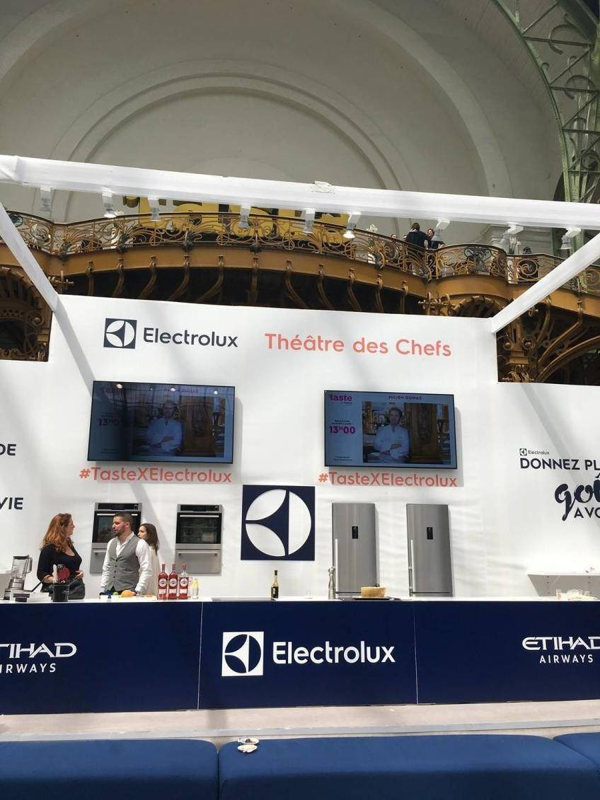 Taste of Paris avec Electrolux